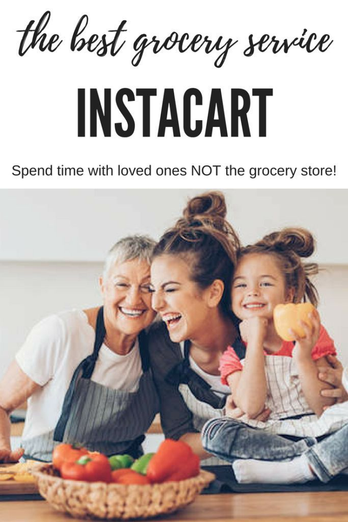 Instacart Review-The Best New Grocery Service New Moms Need