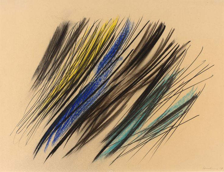Hans Hartung, né en 1904 et mort en 1989, est un artiste d'après guerre associé à l'abstraction lyrique. La galerie Fleury achète et vend ces…