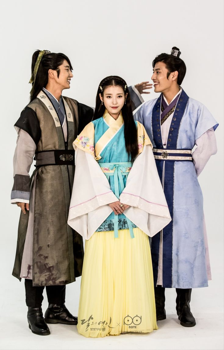 Moon Lovers Lee Joon Gi & IU & Kang Ha Neul