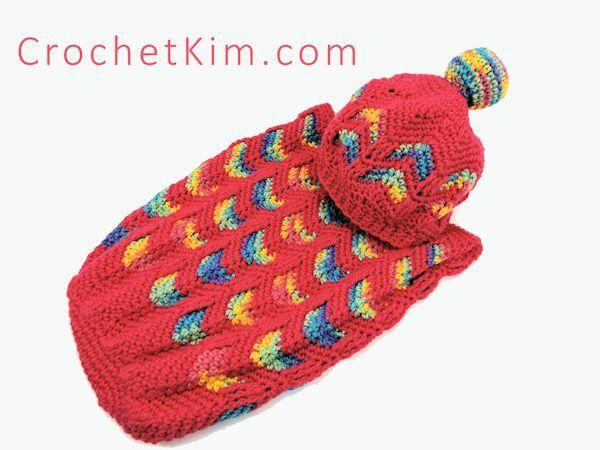 CrochetKim Free Crochet Pattern | Circus Love Baby Hat @crochetkim