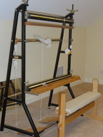 4 Foot Shannock Tapestry Loom. If You See One For Sale, Let Me Know ·  Tapisserie WebstuhlBildwirkerei