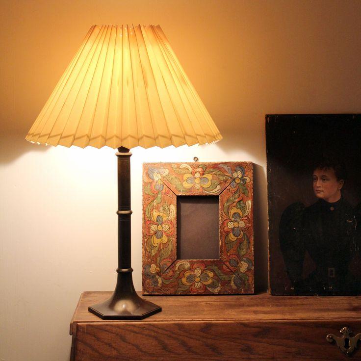 Disko Metal Lamp Base, Just Andersen, Denmark