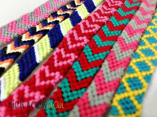knot bracelet | friendship bracelet | pattern | colors find on instagram @richrachman <3