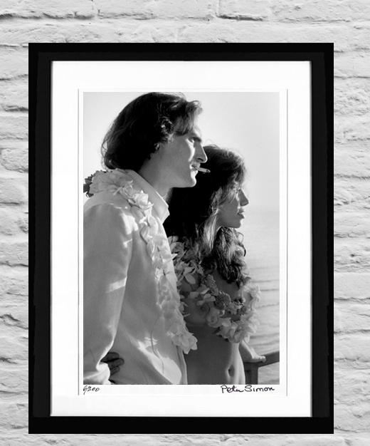 James Taylor and Carly Simon, January 1973