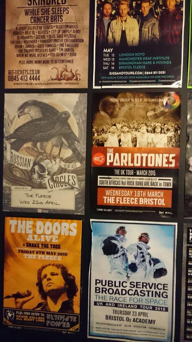Parlotones poster in Bristol #Parlotones
