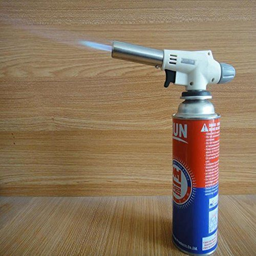 Cheap Toyofmine Flame Jet Gas Butane Blow Torch Burner Welding Solder Iron Soldering Flame Gun deals week