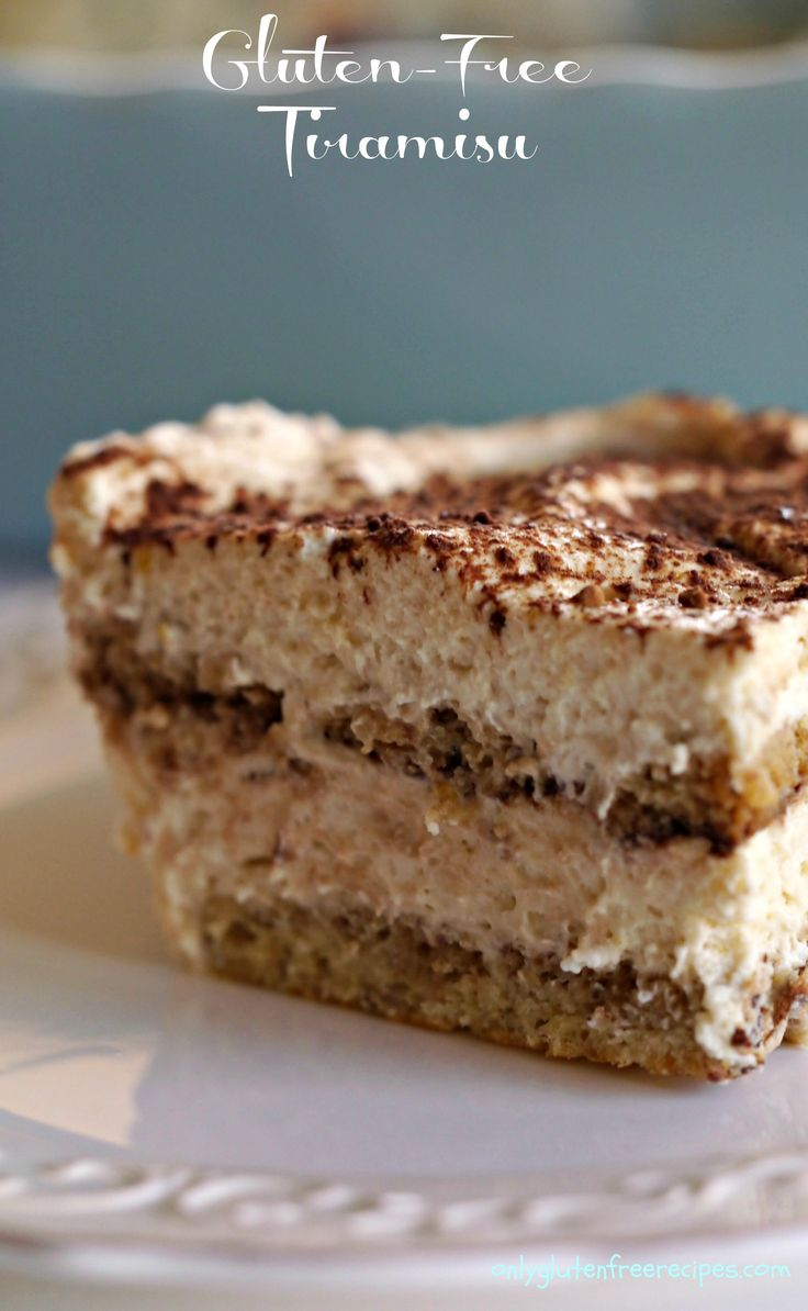 GLUTEN-FREE TIRAMISU ~ Tiramisu is an amazing traditional Italian dessert oozing with rich cream. This gluten free tiramisu is made totally from scratch, including the lady fingers. If you want to save some time, you can buy ready made gluten free lady fingers.