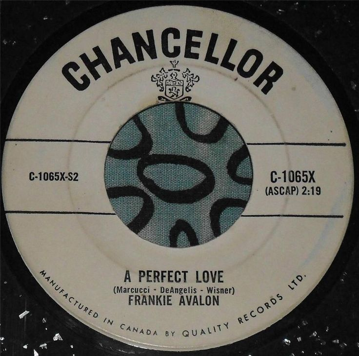 Frankie avalon.....the puppet song & a perfect love...1960...can...hear