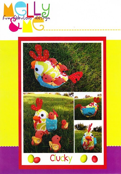 Clucky designed by Melly & Me