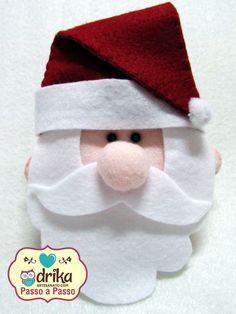 Passo a Passo: Papai Noel de Feltro                                                                                                                                                                                 Mais