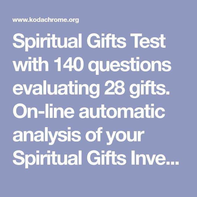 The 25 best spiritual gifts assessment ideas on pinterest spiritual gifts test with 140 questions evaluating 28 gifts on line automatic analysis of your spiritual gifts inventory and results emailed to you and negle Gallery