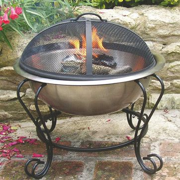 $99 Mini Fire Pit   Traditional   Firepits   Atlanta   Iron Accents
