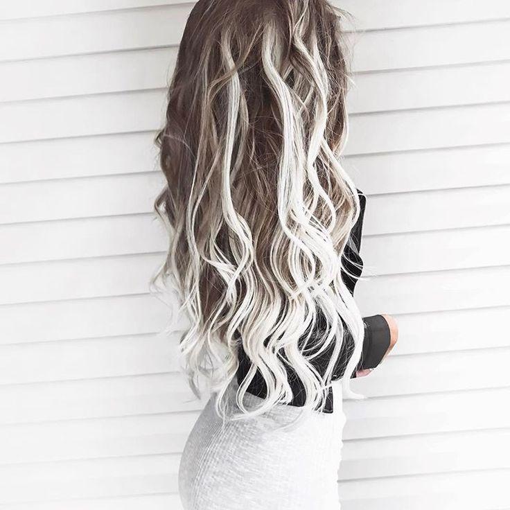 Kelsey Floyd sur Instagram: «Crinière malpropre 🌪 | Je porte mes extensions de cheveux BELLAMI Guy Tang, cendres brunes / blond cendré, extensions de cheveux ombrées de 22 po (tonifiées ...