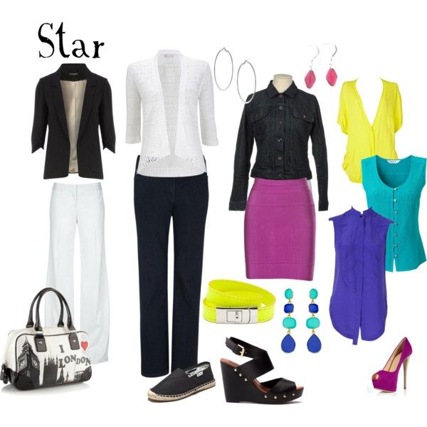 Life in Color: Star by expressingyourtruth, via Polyvore