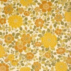 vintage blomstermønster tapet, tresserne tapet, blomstret tapet, retro tapet, retro floral wallpaper, vintage papier peint fleurs, retro behang met bloemen