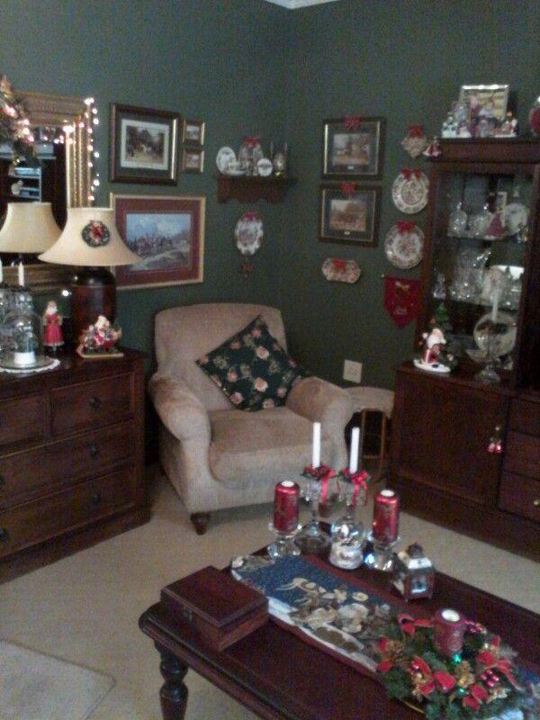 My lounge at Xmas