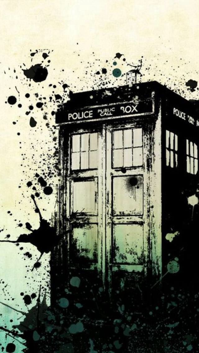 Tardis Wallpaper Iphone 6 Like The Ink Splatter Doctor Who Desenhos E Super Her 243 I