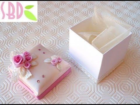 Tutorial: Scatolina di carta con coperchio - Paper box and cover - YouTube