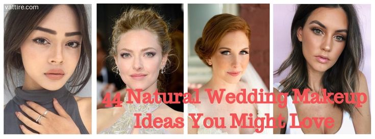 44 Natural Wedding Makeup Ideas You Might Love