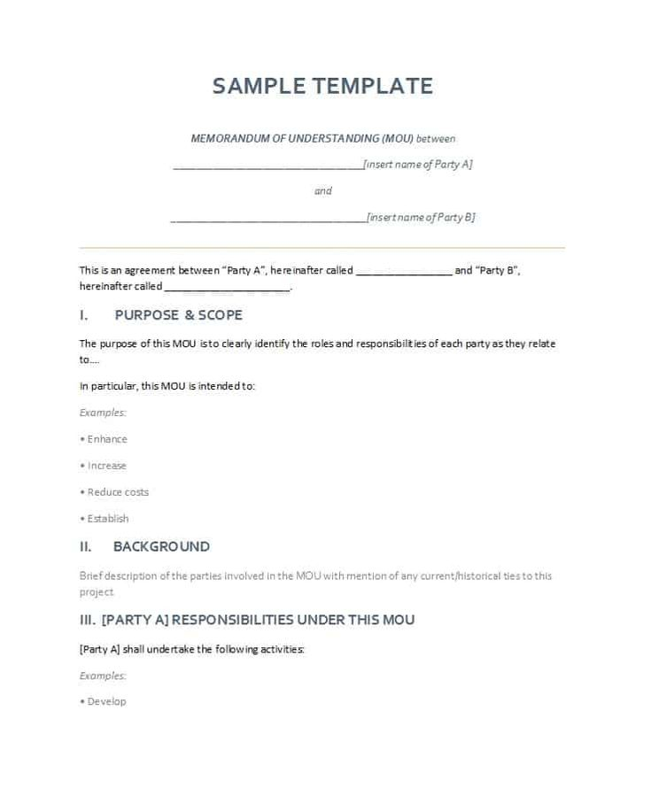 download memorandum of understanding template 01