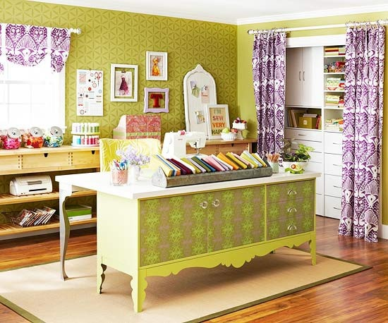 scrapbooking: Sewing Room, Studio Spaces, Inspiration, Dream Room, Room Ideas, Place, Craft Rooms, Crafts