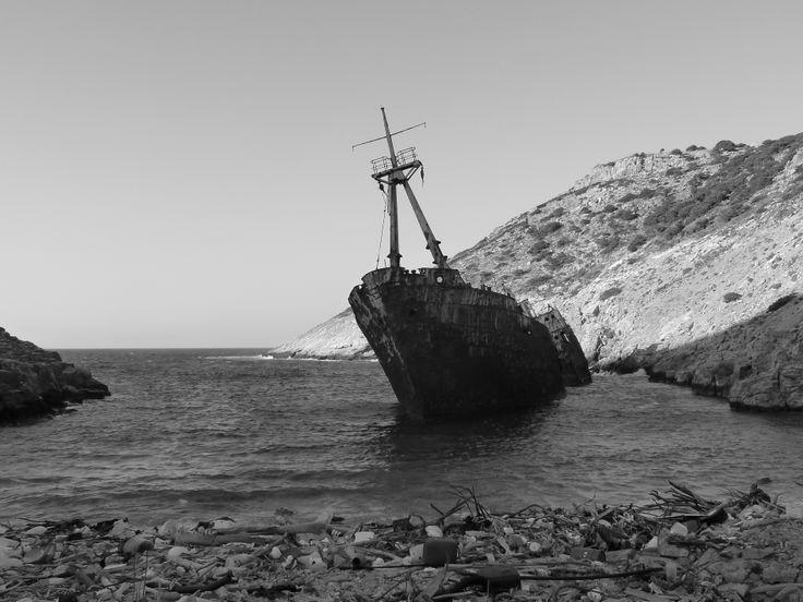 Amorgos, spooky beach