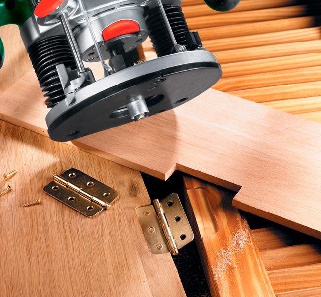 Come fresare il legno bricoportale fai da te e for Bricolage arredamento