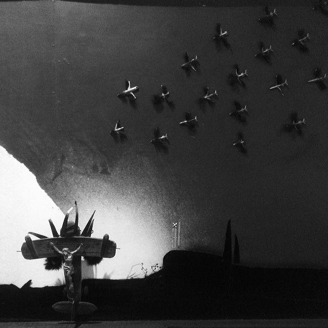 Zmierzch #contemporaryart #hasior #surrealizm pre #popart