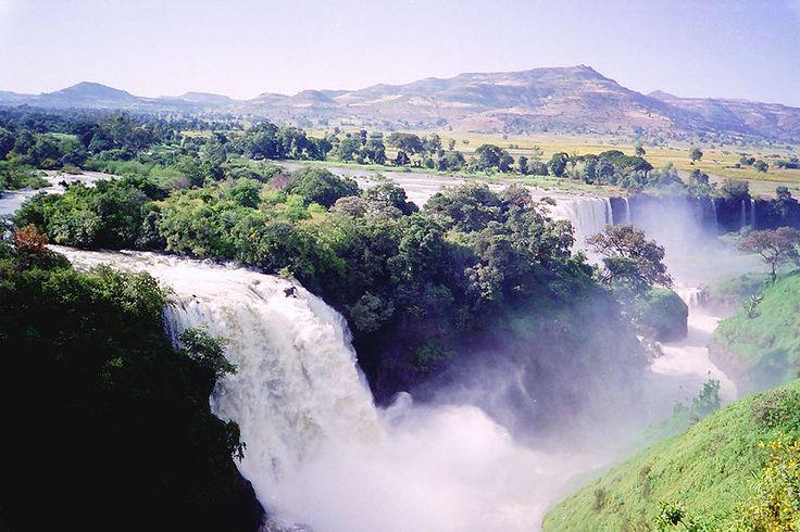 Mavi Nil Şelaleleri - Etiyopya