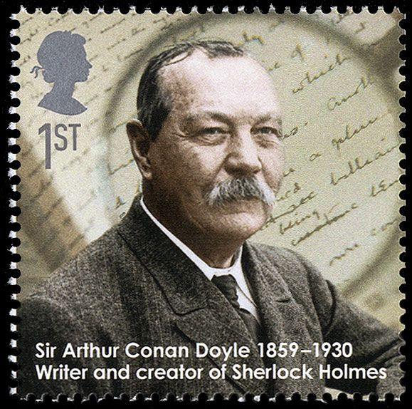 Detective Fiction on Stamps: Great Britain: Sir Arthur Conan Doyle (Sherlock Holmes)