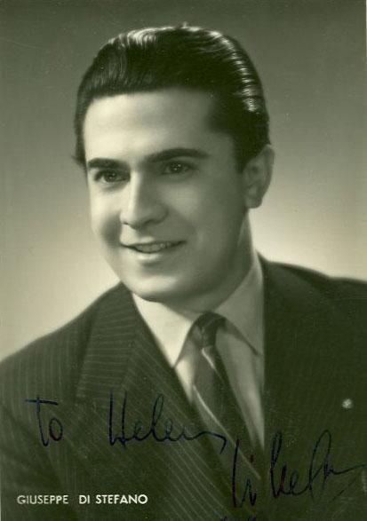 Giuseppe di Stefano: Italian opera tenor who was known for performing Greek opera soprano Maria Callas on many occasions.