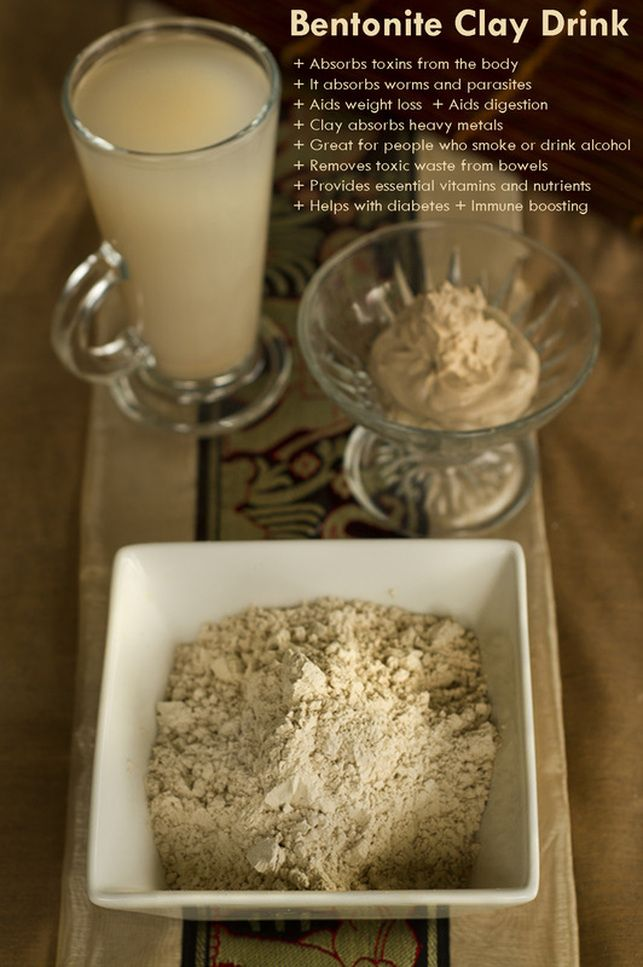 http://www.theearthdiet.org/23/post/2013/11/bentonite-clay-drink.html  Subscribe: www.theearthdiet.org/subscribe.html