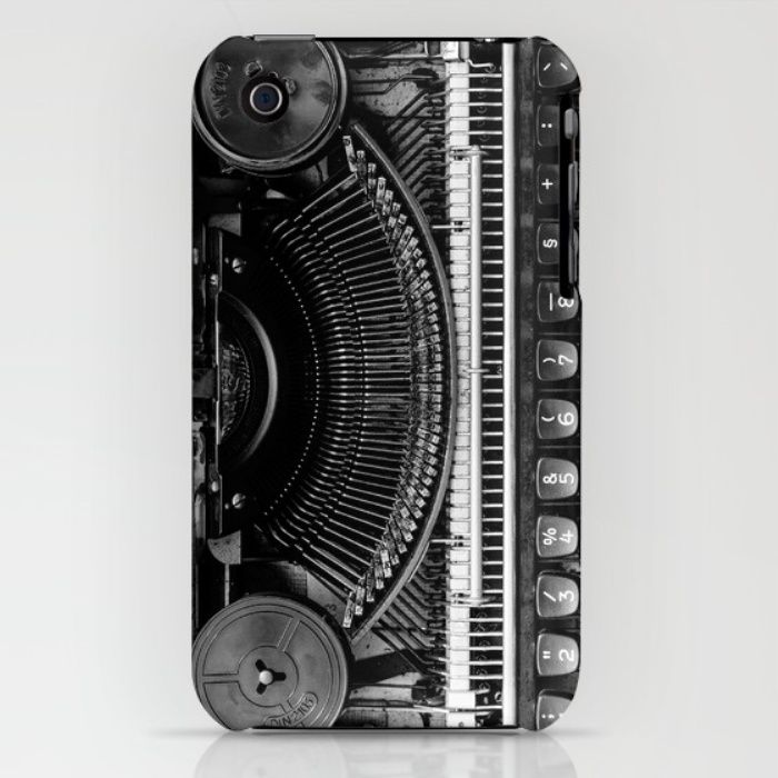 Typewriter iPhone & iPod Case by Mixed Imagery | Society6