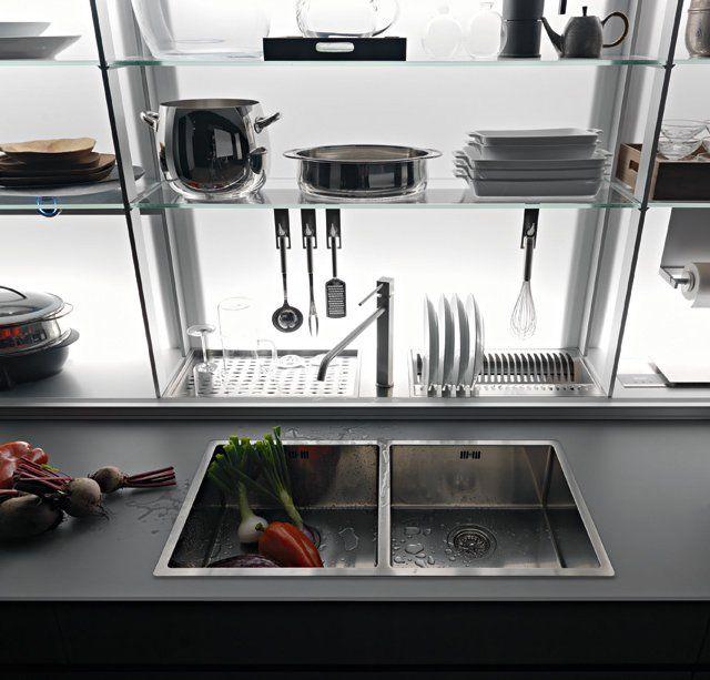 Logica Kitchen System by Valcucine.