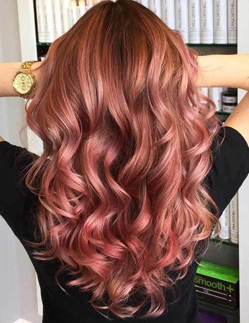 45+ Stunning Hair Color Trends for Girls