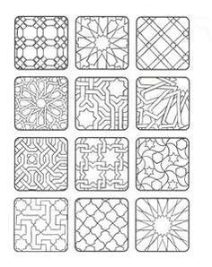 azulejos arabes para colorear - Buscar con Google