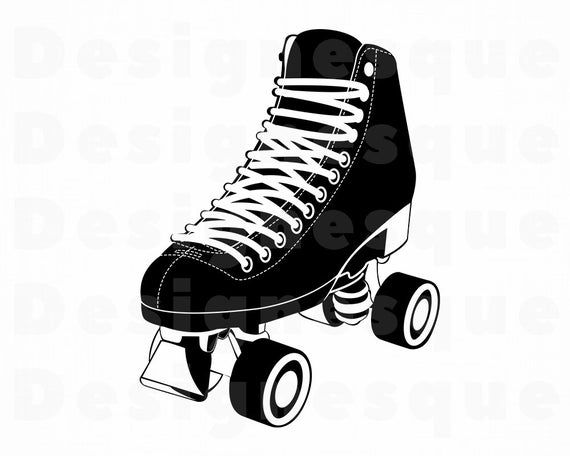 Roller Skates 4 Svg Roller Skating Svg Roller Skates Etsy Skate 4 Svg Roller Skating