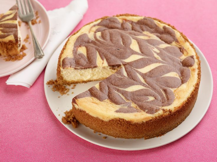 Marble Cheesecake Recipe : Food Network Kitchen : Food Network - FoodNetwork.com