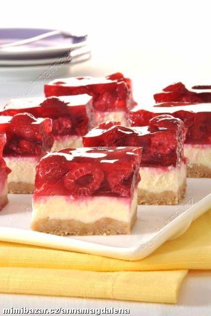 Minidezert malinový cheesecake