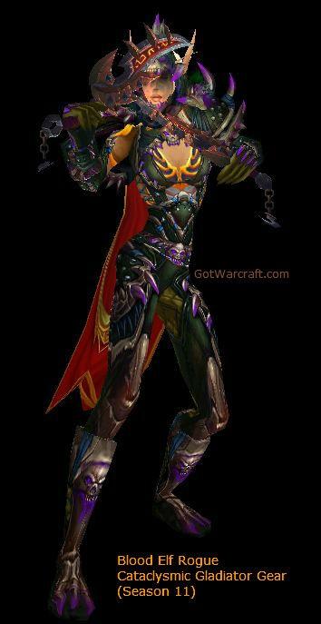 Cataclysmic Blood Elf Rogue, Season 11 gear -- #warcraft #bloodelf -- http://gotwarcraft.com/rogue-pvp/