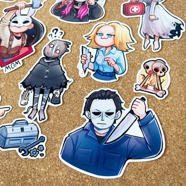 Dead By Daylight DBD sticker pack pocket calendars Etsy