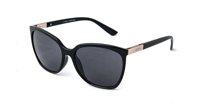 Infinity Sunglasses IF8206 BLACK - Ladies Prescription SUNGLASSES - Find a great pair today with our free Home Try-On service. Fast free shipping both ways.