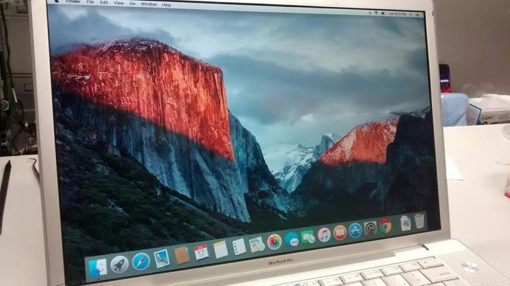 "MacBook Pro 15"" A1226 2.2 GHz Intel Core 2 Duo Mid/Late 2007 OS X El Capitan #Apple"