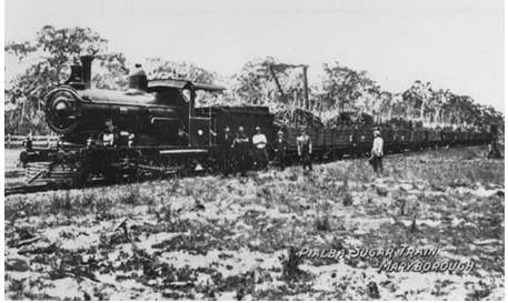 Pialba sugar train (undated)