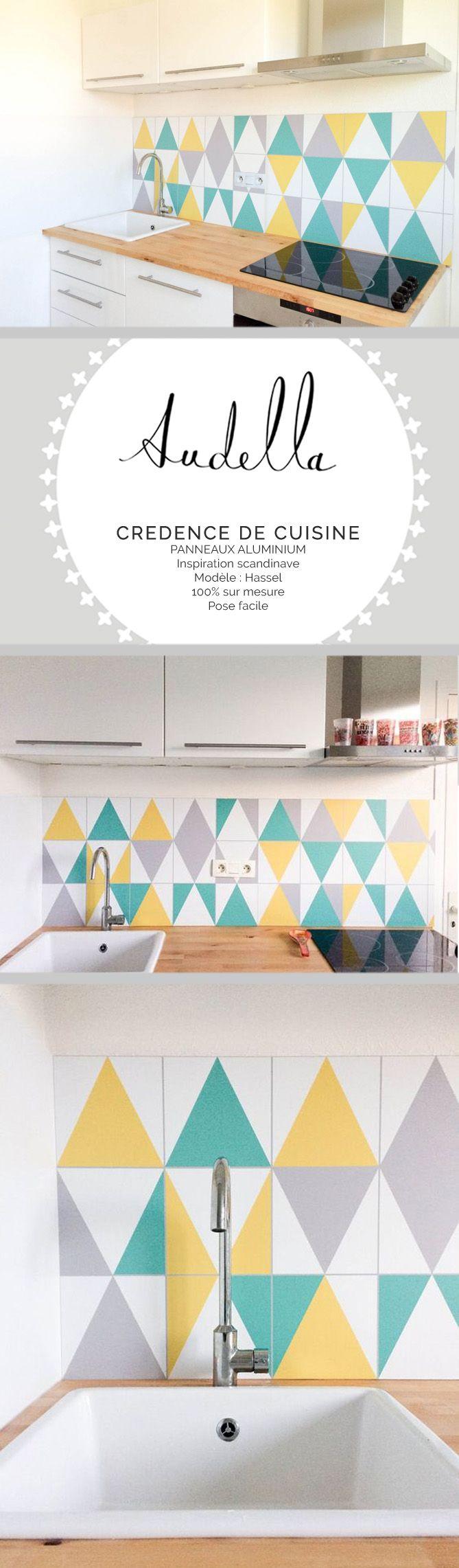 Good ralisation duune crdence de cuisine en panneaux for Credence leroy merlin sur mesure