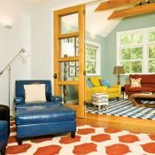 Bold and Bright | Mountain Living - colorful living