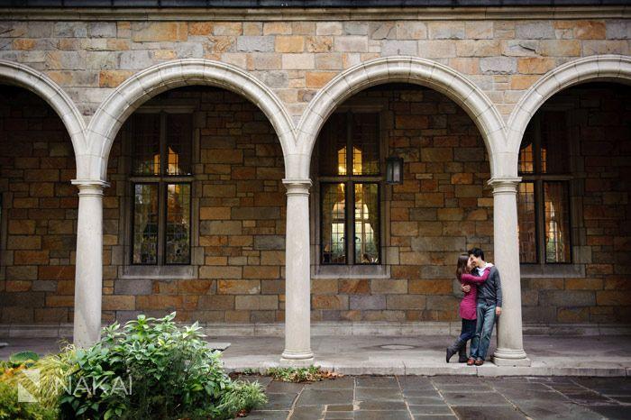 Ann Arbor, Michigan- Engagement Photography - University of Michigan Campus - UofM - Image by Nakai Photography http://www.nakaiphotography.com