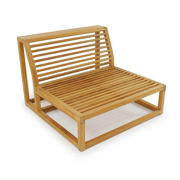 Maya Teak Sectional - Westminster Teak Outdoor Furniture