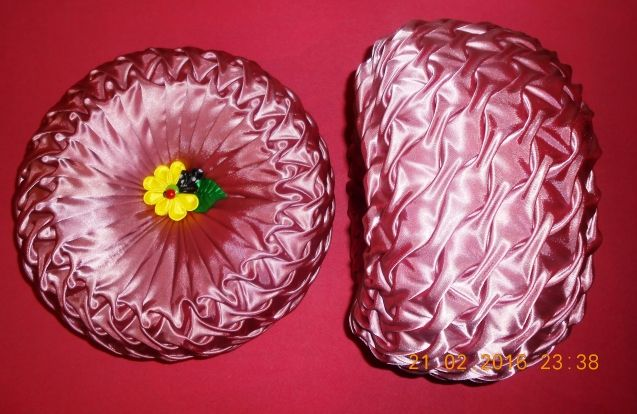 Мои восьмёрочки. Цветочные подушки - Вальс цветов! Весна 2016!