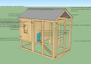 Free Insulated Chicken Coop Plans